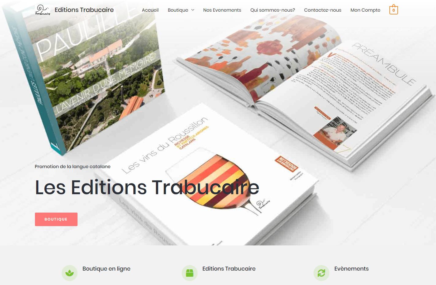 copie écran site trabucaire.com